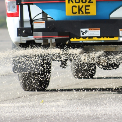 Don't slip up when it comes to your winter gritting!