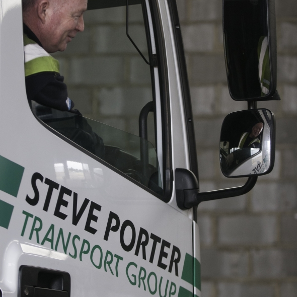 Steve Porter Transport helping to drive forward logistics recruitment