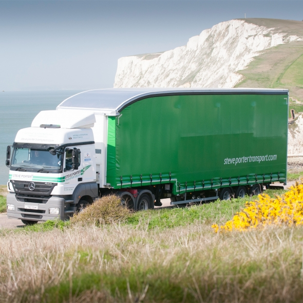Steve Porter Transport operate South Coast road freight for Geodis Calberson