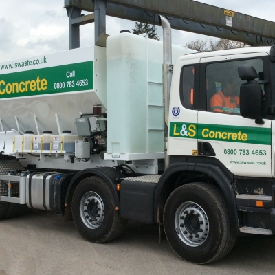 L&S Waste Management invests in new ready mix concrete vehicle