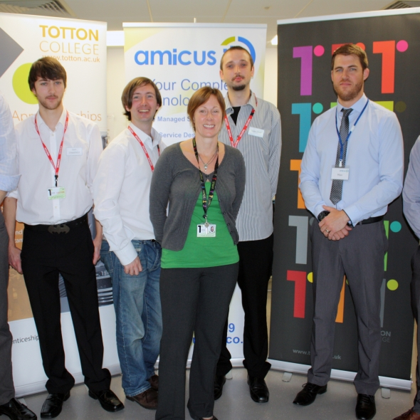 Amicus ITS helps reboot careers with apprenticeship scheme