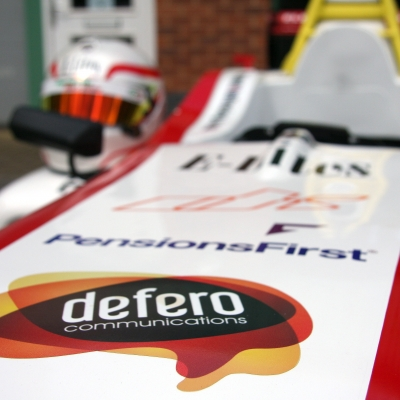 Defero is the perfect Formula 4 Matt Bell Racing