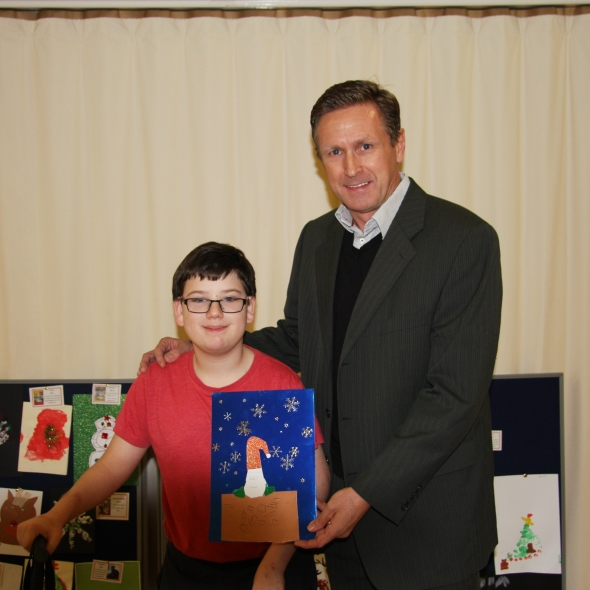 L&S Waste Add A Touch Of Colour To Christmas With Rainbow Centre Christmas Card Competition