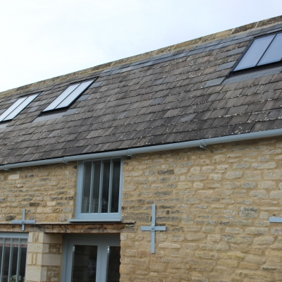 Breathing new life into an historic barn in the Cotswolds