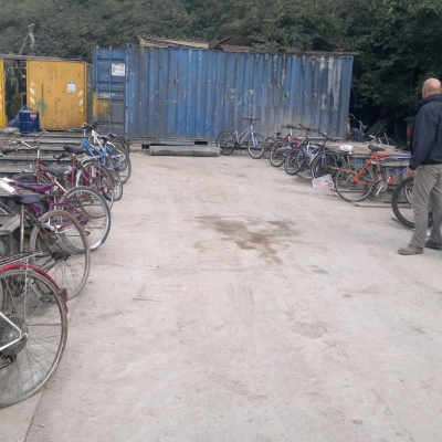 L&S Waste Management provide pedal power for London Youth Charity
