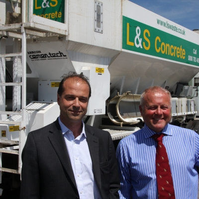 MP George Hollingbery visits L&S Waste