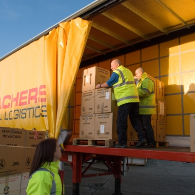 Meachers Global Logistics Deliver Christmas Gifts To Under Privileged Children