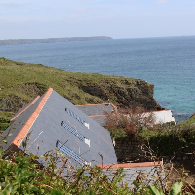 Making the most of stunning sea views on the Cornish coast